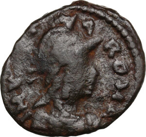 obverse: Ostrogothic Italy, Theoderic (493-526).. AE 40 Nummi, Rome mint, c. 493-518 AD