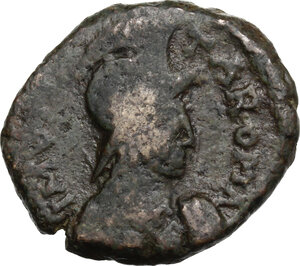 obverse: Ostrogothic Italy, Athalaric (526-534).. AE 20 Nummi. Rome mint
