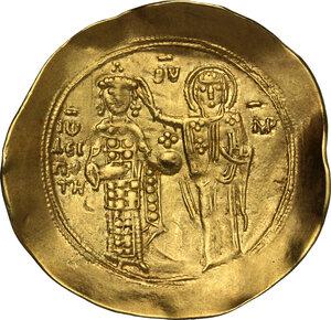 reverse: John II Comnenus (1118-1143).. AV Hyperpyron. Thessalonica mint. Struck circa 1137-1143