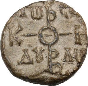 obverse: PB Seal of Constantine Comes, 8th-9th century