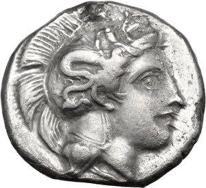 obverse: Southern Lucania, Thurium. AR Stater, c. 400-350 BC