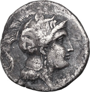 obverse: Southern Lucania, Thurium. AR Stater, c. 350-300 BC