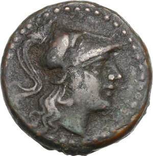 obverse: Southern Lucania, Thurium. AE 17 mm. after c. 300 BC