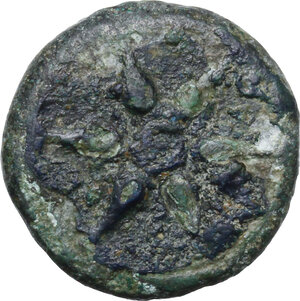 obverse: Etruria, Inland Etruria. AE Struck Uncia, 3rd century BC