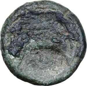 reverse: Etruria, Inland Etruria. AE Struck Uncia, 3rd century BC