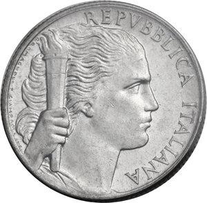 obverse: 5 Lire 1950 senza 5 nella data