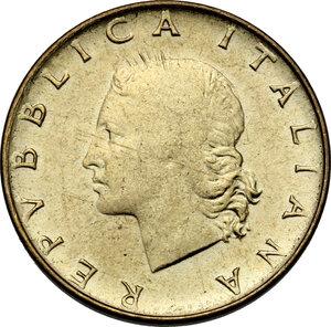 obverse: 20 Lire 1981 testa pelata