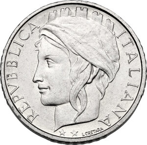 obverse: 100 Lire 1997 asse ruotato di 90°