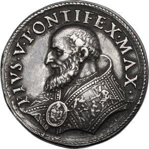 obverse: Pio V (1566 - 1572), Antonio Michele Ghislieri.. Medaglia s.d