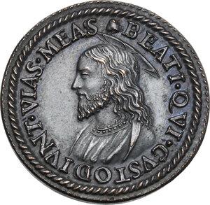 reverse: Pio V (1566 - 1572), Antonio Michele Ghislieri.. Medaglia
