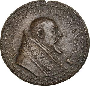 obverse: Urbano VIII (1623-1644) Maffeo Barberini.. Medaglia annuale, A. XX