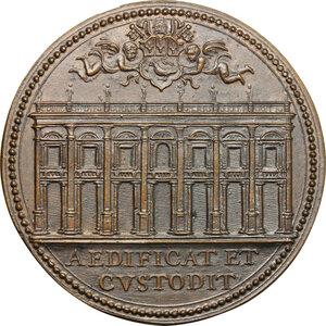 reverse: Innocenzo X (1644-1655) Giovanni Battista Pamphili. Medaglia A. X