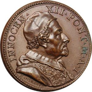 obverse: Innocenzo XII (1691-1700), Antonio Pignatelli.. Medaglia annuale, A. I