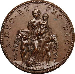 reverse: Innocenzo XII (1691-1700), Antonio Pignatelli.. Medaglia annuale, A. I