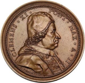 obverse: Clemente XI (1700-1721), Giovanni Francesco Albani. Medaglia straordinaria, A. II