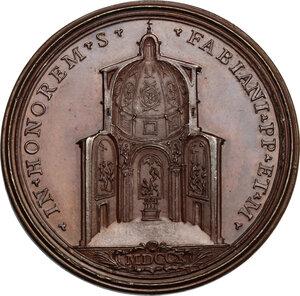 reverse: Clemente XI (1700-1721), Giovanni Francesco Albani. Medaglia annuale, A. X
