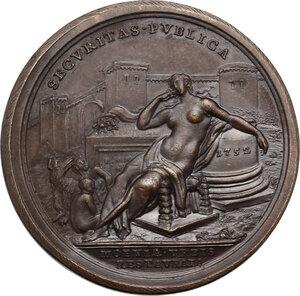 reverse: Benedetto XIV (1740-1758), Prospero Lambertini.. Medaglia annuale, A. XII