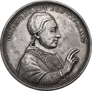 obverse: Clemente XIV (1769-1774), Gian Vincenzo Ganganelli . Medaglia 1773 per l abolizione dell Ordine dei Gesuiti