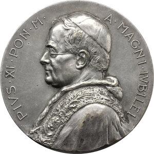 obverse: Pio XI (1922-1939), Achille Ratti.. Medaglia per il Grande Giubileo del 1925