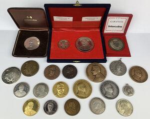 obverse: Giovanni Paolo I (1978).. Lotto di ventidue (22) medaglie, 7 in argento