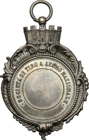 reverse: Medaglia premio Società di Tiro a Segno Nazionale