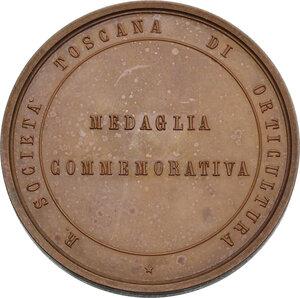 reverse: Medaglia 1874 per l Esposizione Internazionale di orticultura in Firenze