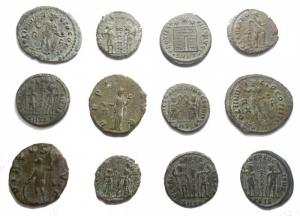 Lotti - Impero Romano. Insieme di 12 bronzetti