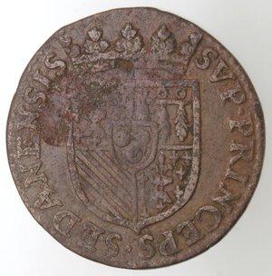 reverse: Francia. Sedan. Henry de la Tour. 1591-1623. Doppio Liard 1614. Ae.