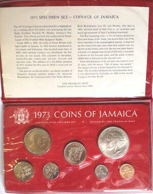 obverse: Jamaica. Coin set da 7 valori.  1973.