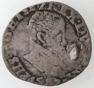 obverse: Olanda. Filippo II. Dominazione spagnola. 155?. Ag.