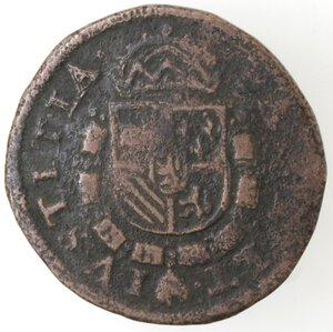reverse: Olanda. Filippo II. Dominazione spagnola. Ae.