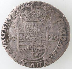 obverse: Olanda. Dominazione spagnola. 1629. Ag.