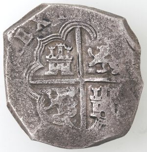 reverse: Spagna. 8 Reales. Ag.