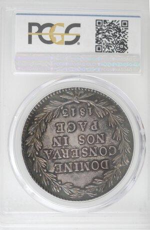 reverse: Svizzera-Zurigo.40 Batzen 1813.Ag.