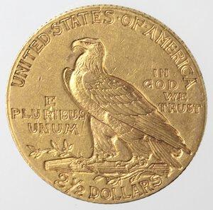 obverse: USA. 2,5 Dollari Indian Head 1911. Au.