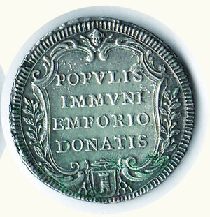 reverse: ROMA - Clemente XII - Testone AN IV