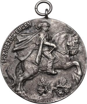 obverse: Austria. AR Medal 1912, Auf die Eröffnung des neuen k.k. Hauptschießstandes