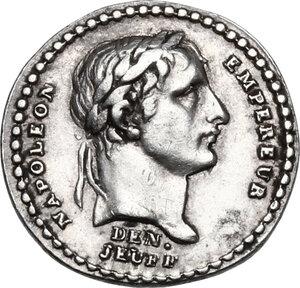 obverse: France.  Napoleon Bonaparte (1801-1815).. AR Medal, AN XIII (1804) for the Coronation of Napoleon as Emperor