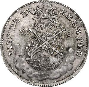 obverse: Germany.  Joseph II (1765-1790).. AR Jeton, 1765, Frankfurt