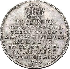 reverse: Germany.  Joseph II (1765-1790).. AR Jeton, 1765, Frankfurt