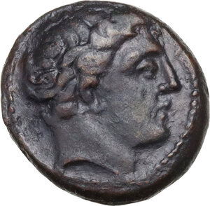 obverse: Thessaly, Phalanna. AE Chalkous, 4th century BC