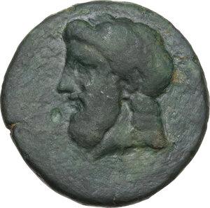 obverse: Illyria, Pharos.. AE Litra, c. 350-320 BC