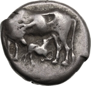 obverse: Corcyra, Corcyra. AR Stater, 433-360 BC