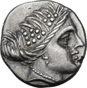 obverse: Euboia, Histiaia. AR Tetrobol, 3rd-2nd centuries BC
