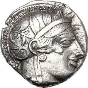 obverse: Attica, Athens. AR Tetradrachm, 479-393 BC