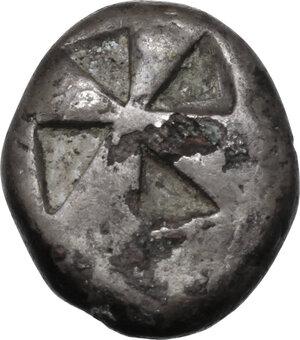 reverse: Islands off Attica, Aegina. AR Stater, circa 525-480 BC
