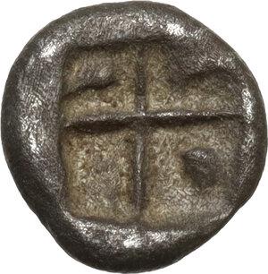 reverse: Uncertain mint.  Western Asia Minor(?). AR Obol, 5th century BC