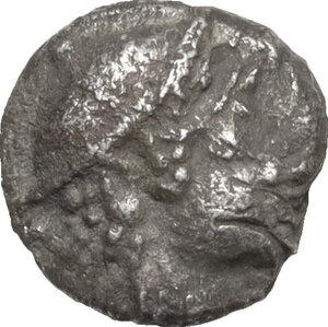 obverse: Asia Minor, uncertain mint.. AR Hemiobol, c. 5th century BC