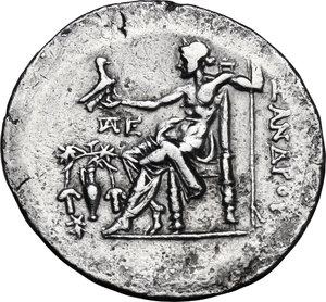reverse: Aeolis, Temnos.  Alexander III