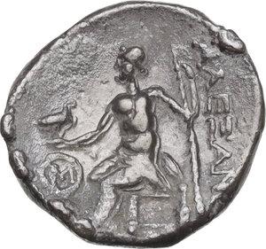 reverse: Islands off Ionia, Chios. AR Drachm imitating Alexander III of Macedon, 3rd century BC